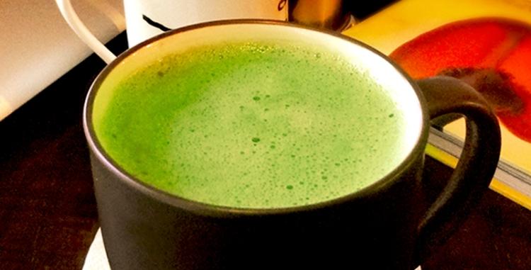 Green Tea Latte feat p
