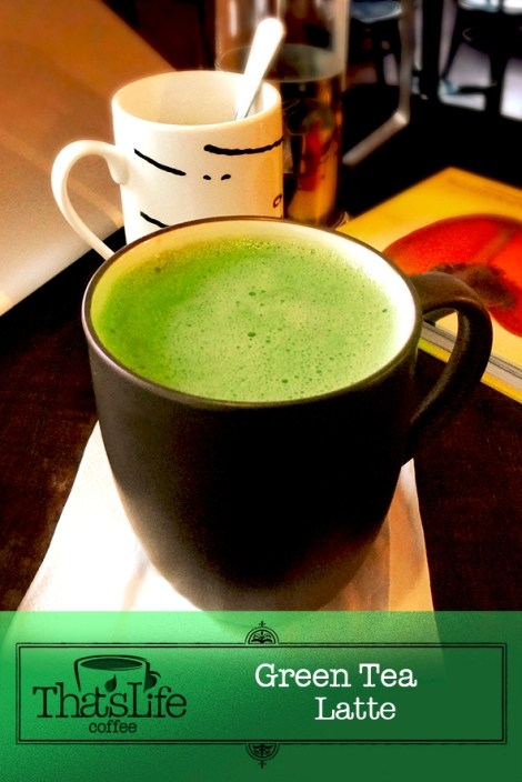 Green Tea Latte P