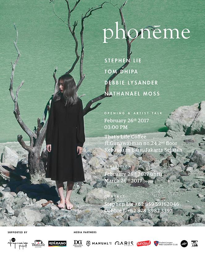 Phoneme Exhibit Flyer